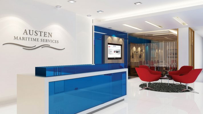Austen Maritime Service | Office Renovation | Ampersand