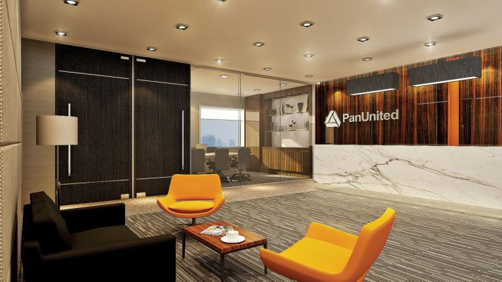 Pan United | Office Renovation Singapore | Ampersand