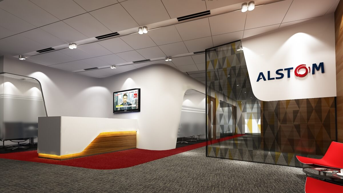 Alstom | Office Renovation Singapore | Ampersand